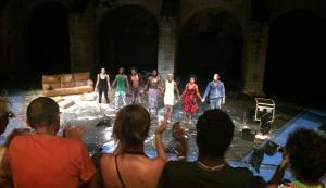 Les jeunes du SPF au 71e Festival d'Avignon