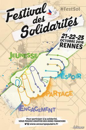 Affiche Festival des solidarités 2016