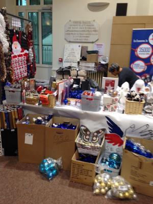 SPF91 au marché de Noël de Soisy sur seine