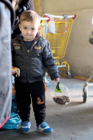 Plus d'un tiers des personnes accueillies par le Secours populaire ont moins de 15 ans, ce qui représente plus d'un million d'enfants.