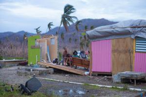L'île de Saint-Martin dévastée par les ouragans