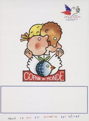 Affiche Copain du monde en 1992.
