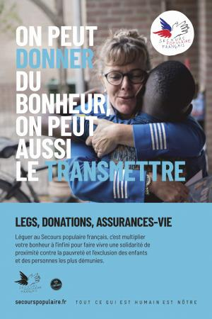 Affiche legs, donations, assurances-vie