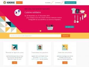 Kokoroe, capture site web, annonce SPF