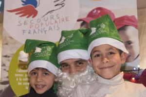 Le 24 décembre avec les Pères Noël verts au théâtre de la Ville à Paris