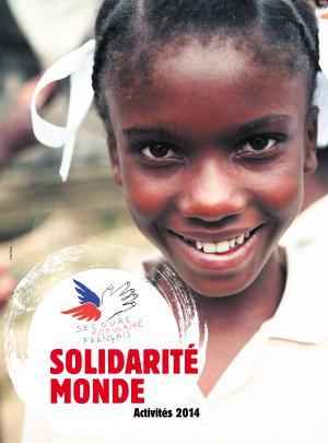 Couverture du bilan de la solidarité mondiale 2014