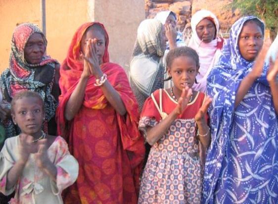 femmes mauritanie