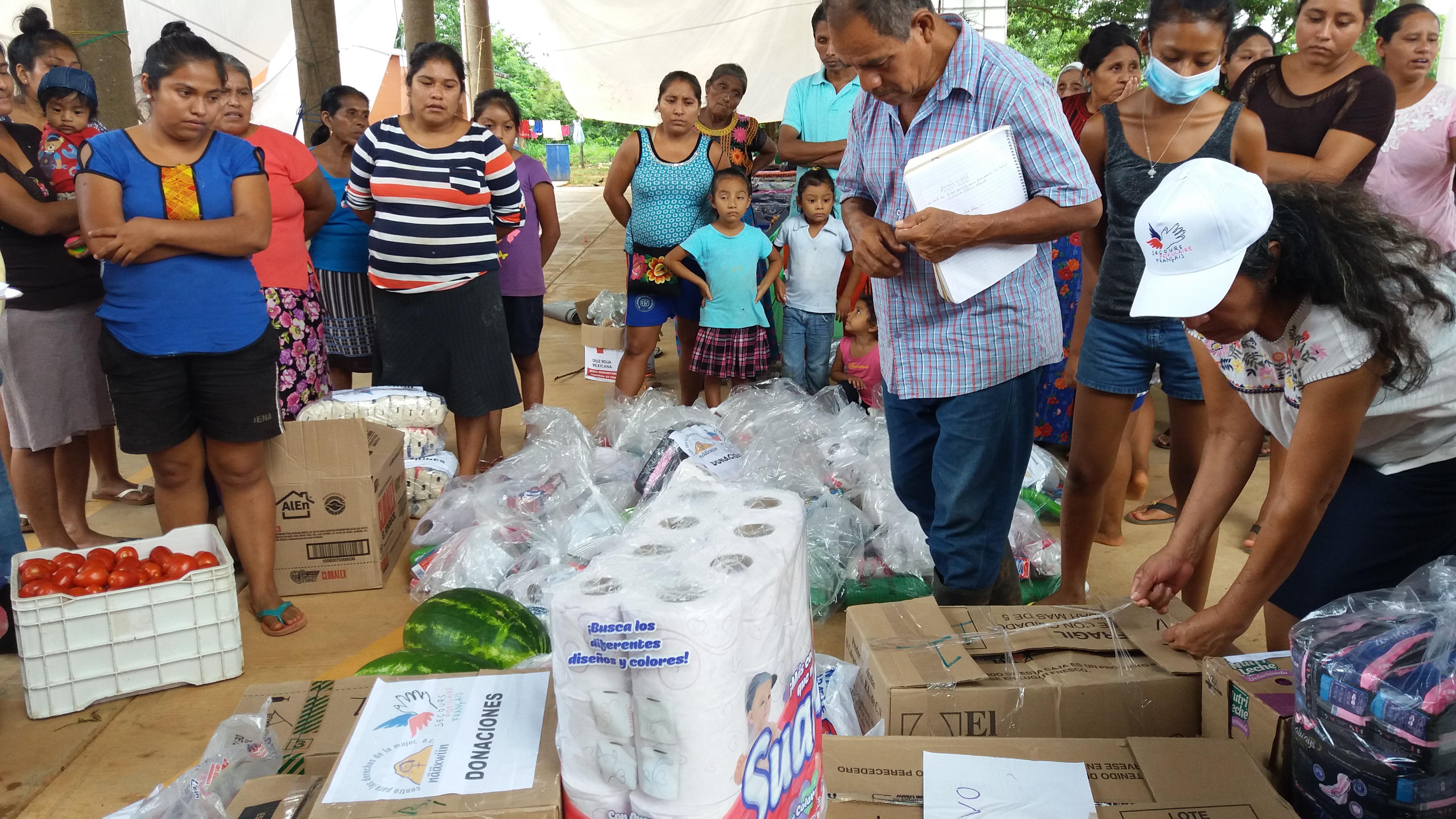 Le SPF et ses partenaires ont distribué des sinistrés 62 tonnes de nourriture, 990 bâches, 200 000 pastilles de potabilisation de l'eau.