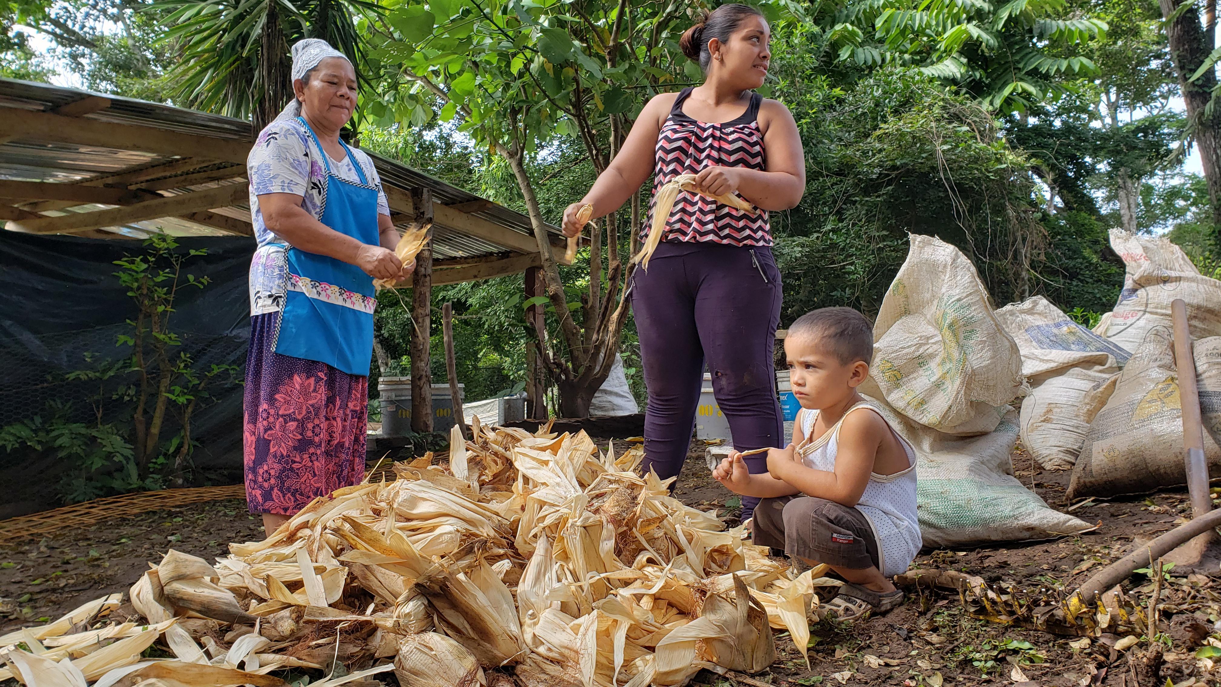 Les paysannes et les paysans participant à la coopérative Canasta Campesina voient leur niveau de vie s'améliorer.