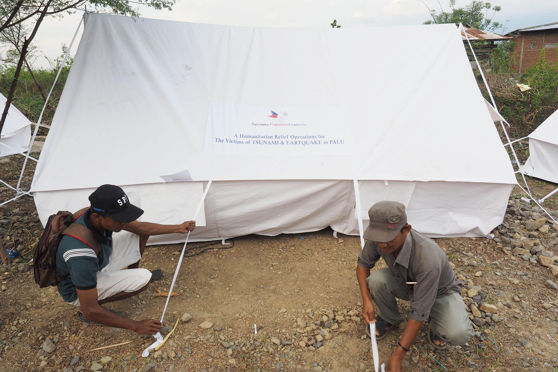 Le Secours populaire et ses partenaires ont mis à l'abri des centaines de sinistrés.