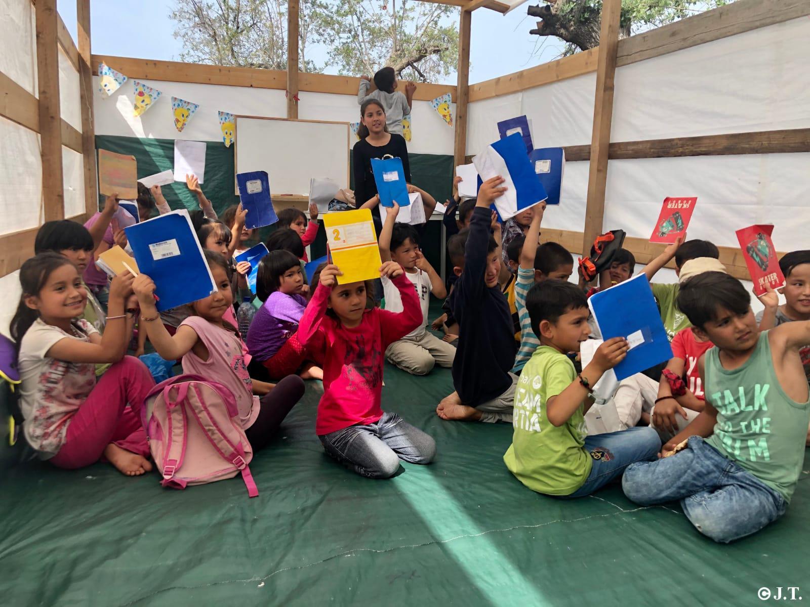 Grèce : une main tendue aux migrants réfugiés